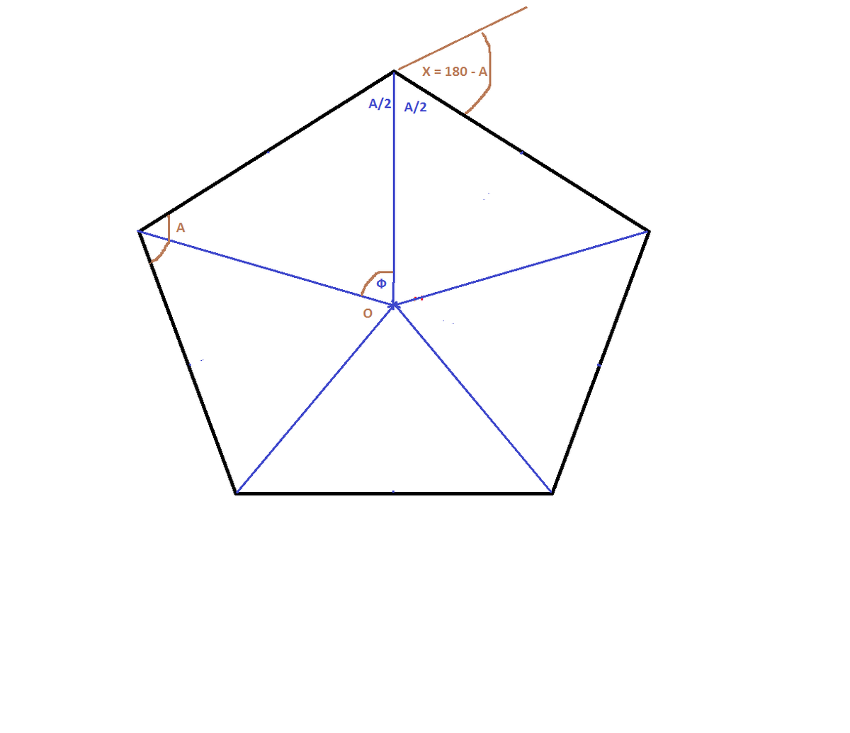 If the exterior angle of a regular polygon is 45 degrees - Exterior angle of a polygon formula ...