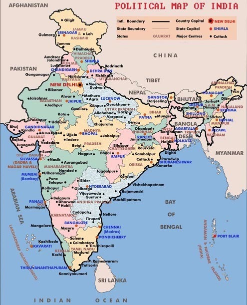 India Map With States And Districts India map with states and cities and districts   Brainly.in India Map With States And Districts