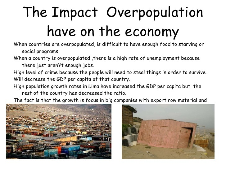 article on impact of overpopulation