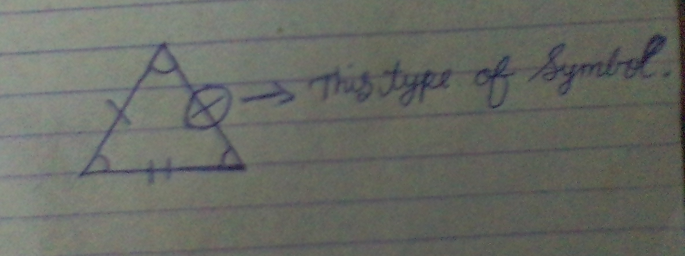 Can We You This Type Of Symbol Shown In This Picture To Depict All