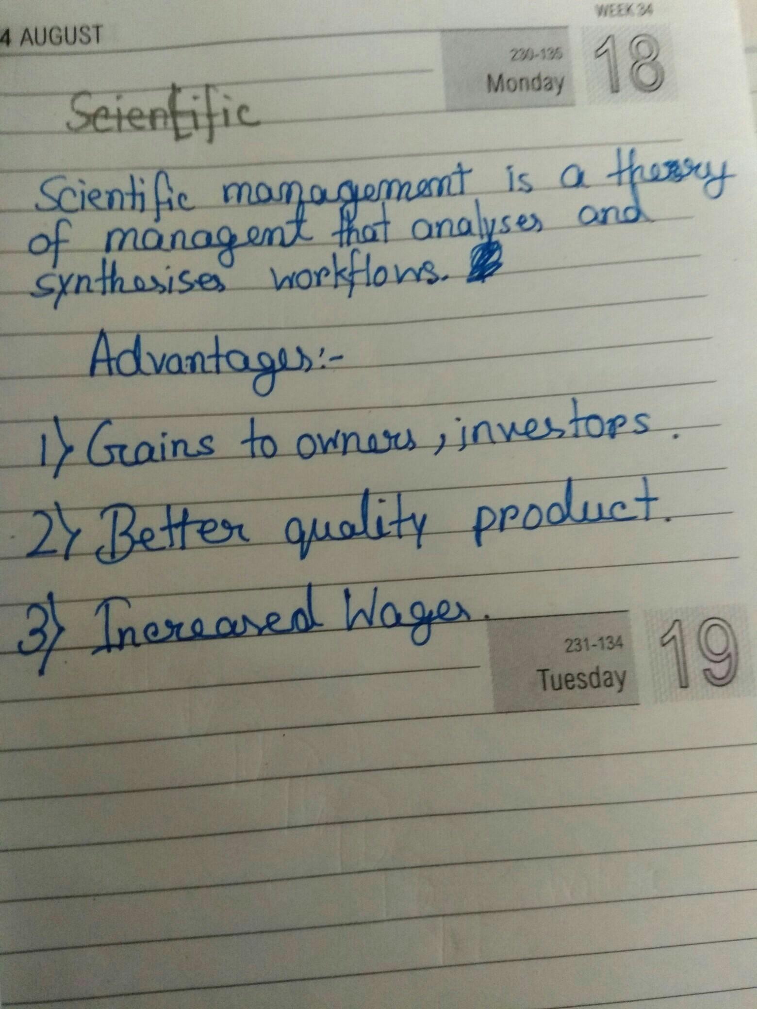management science definition