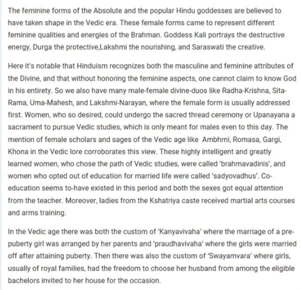 early vedic society