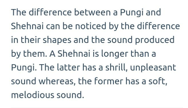 How Is A Shenai Different From Pungi