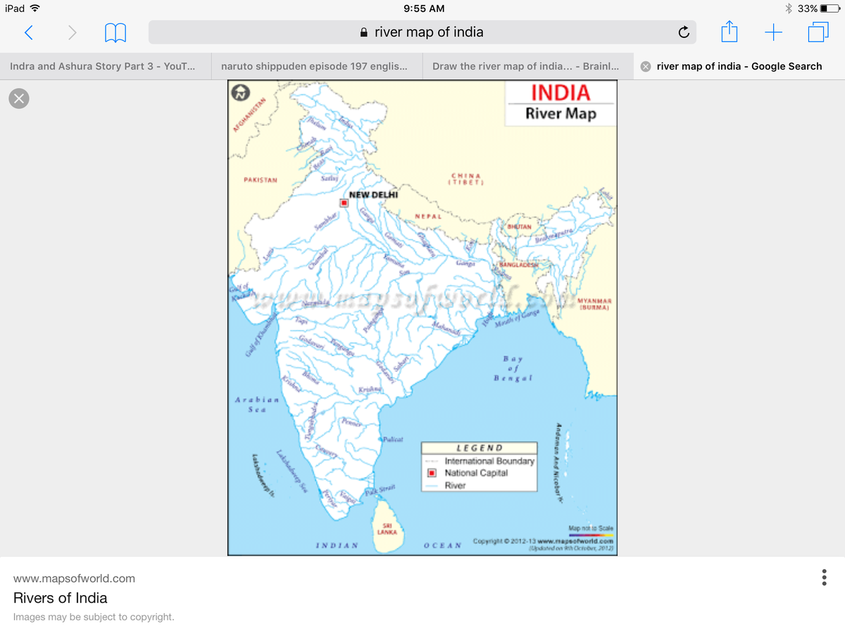 Draw the river map of india - inly.in Draw On A Map on