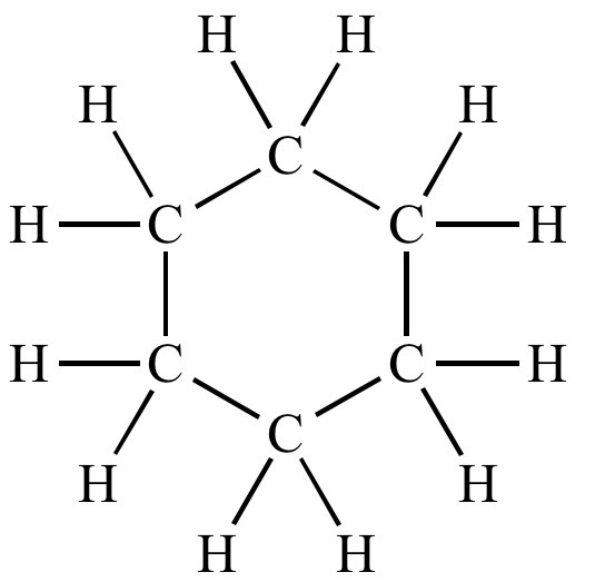 Electron Dot Diagram Of Cyclohexane