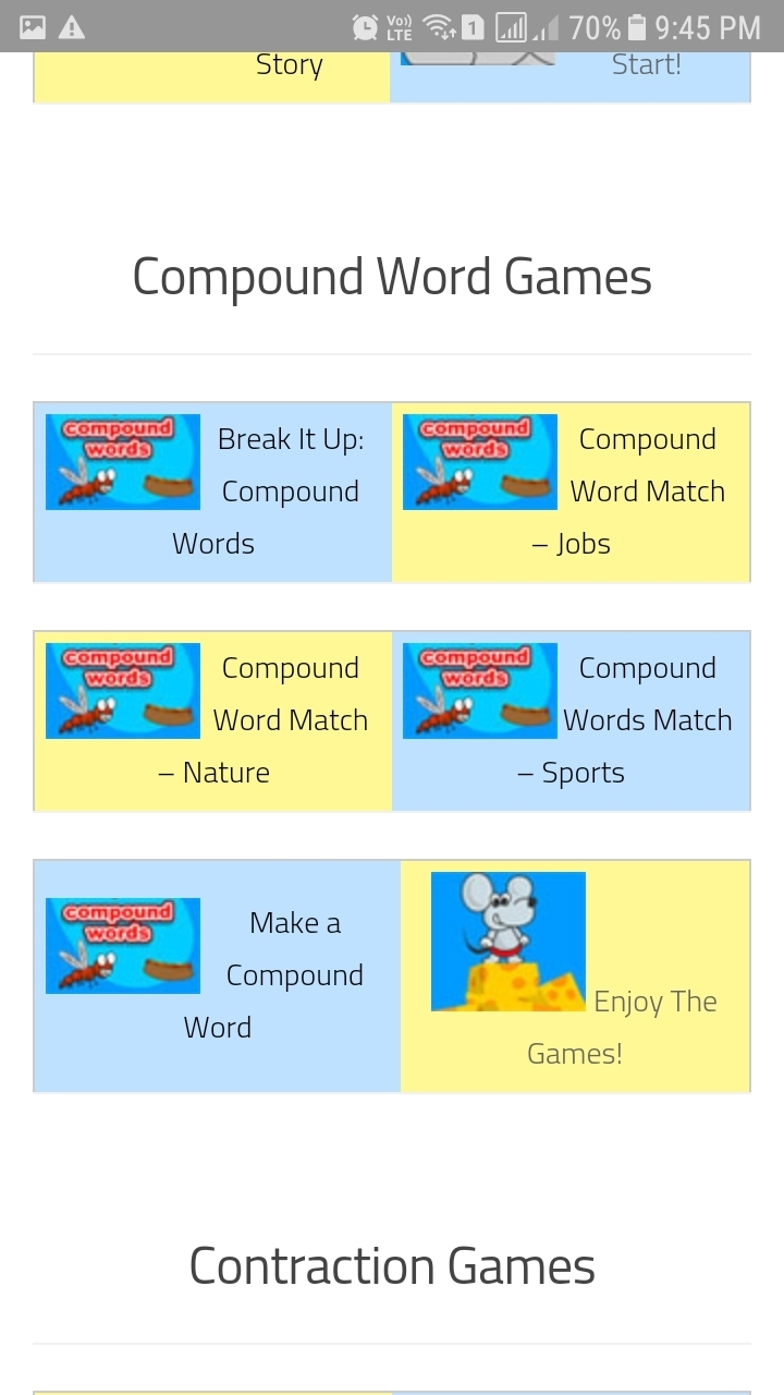 Design a word game of english for class 3rd. - Brainly.in