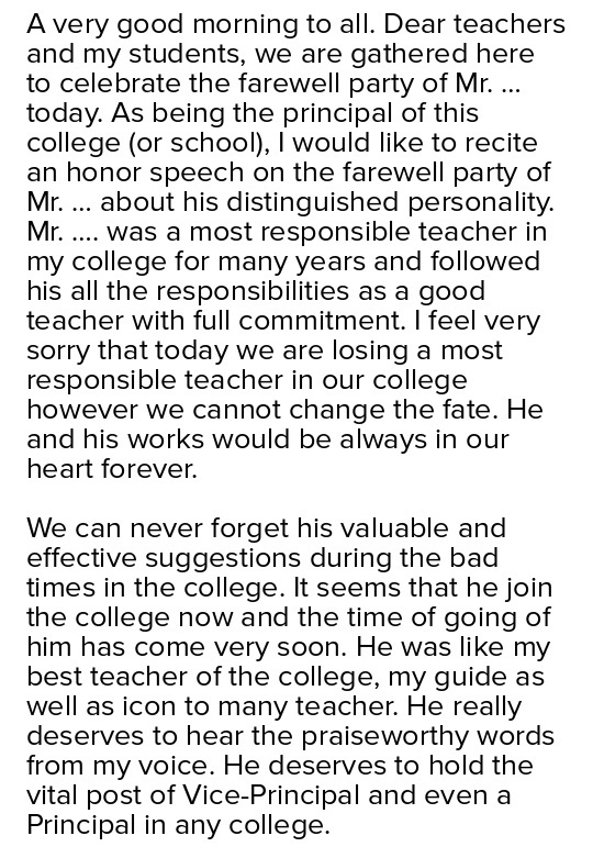 for the farewell speech Find and save ideas about farewell speech to colleagues on pinterest | see more ideas about farewell speech for colleague, farewell quotes for colleagues and.