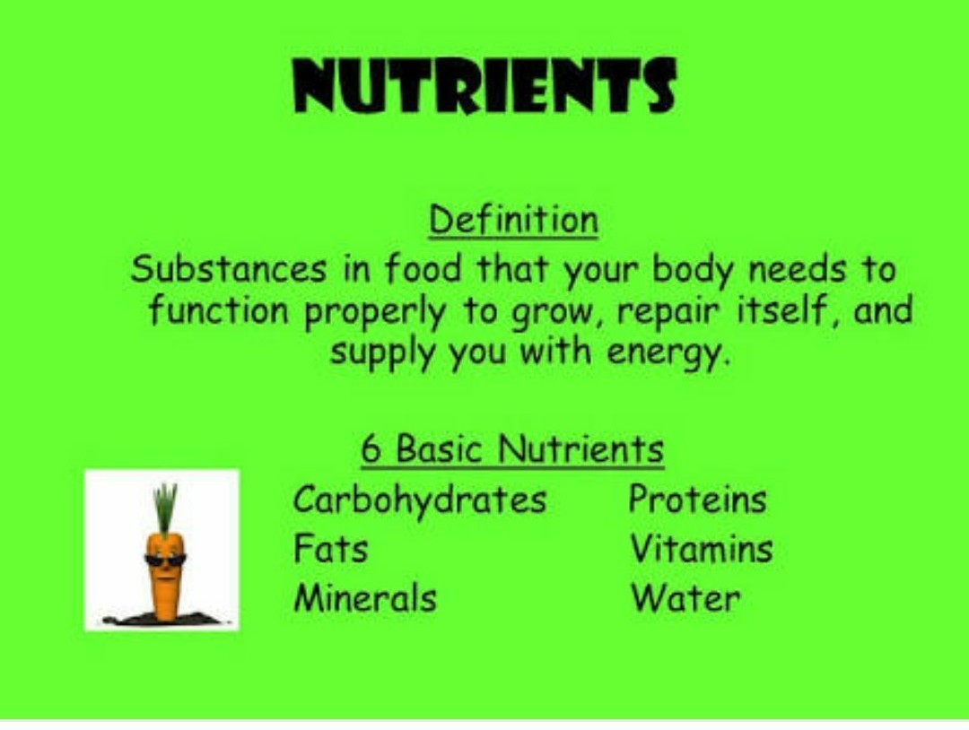 what is the definition of nutrients? - brainly.in