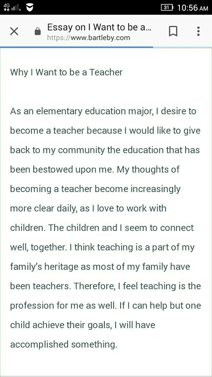 lines on aim my aim to become a teacher   brainlyin download jpg