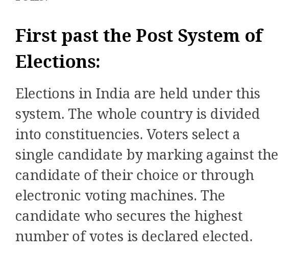 essay on elections in india