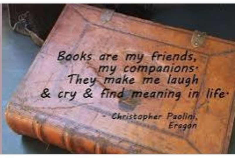 Book are my best friends 10 lines - Brainly in