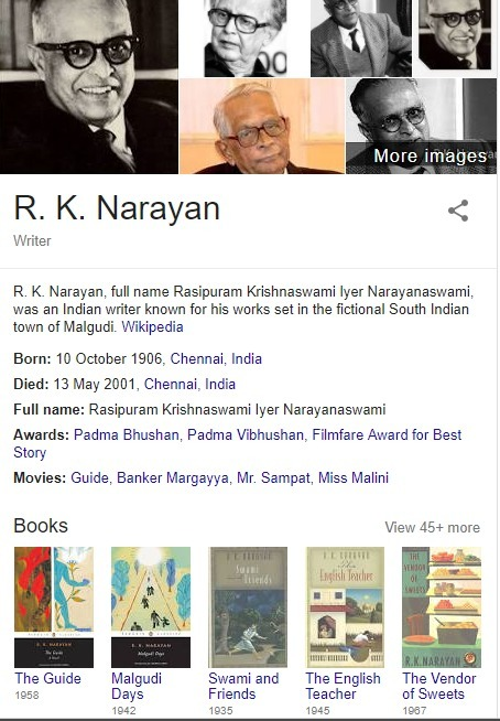 essay on toasted english by rk narayan