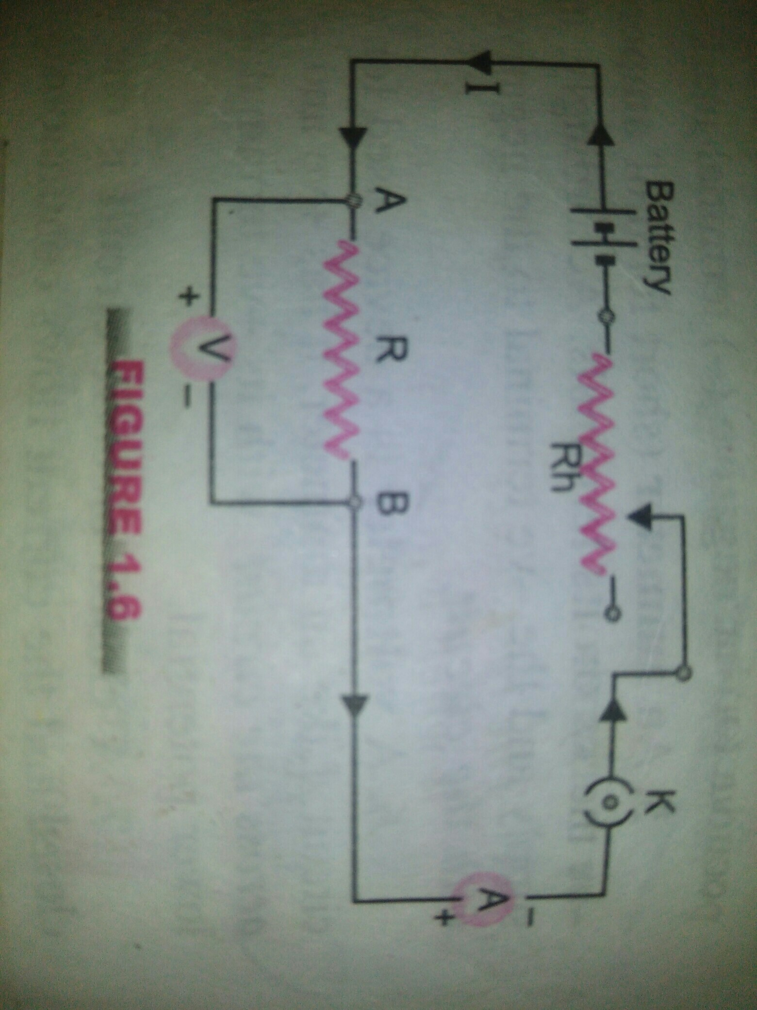 58527a2f4c9d09 diagram of electric circuit with the help of voltmeter, ammeter ...
