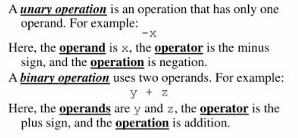 What are arithmetic operators in c++? Distinguish between
