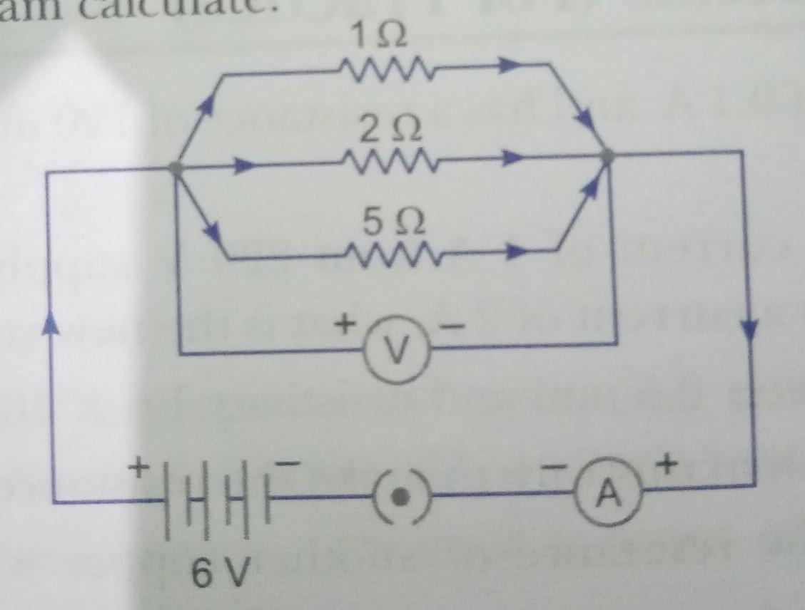 For The Given Circuit Diagram Calculate I  The Current