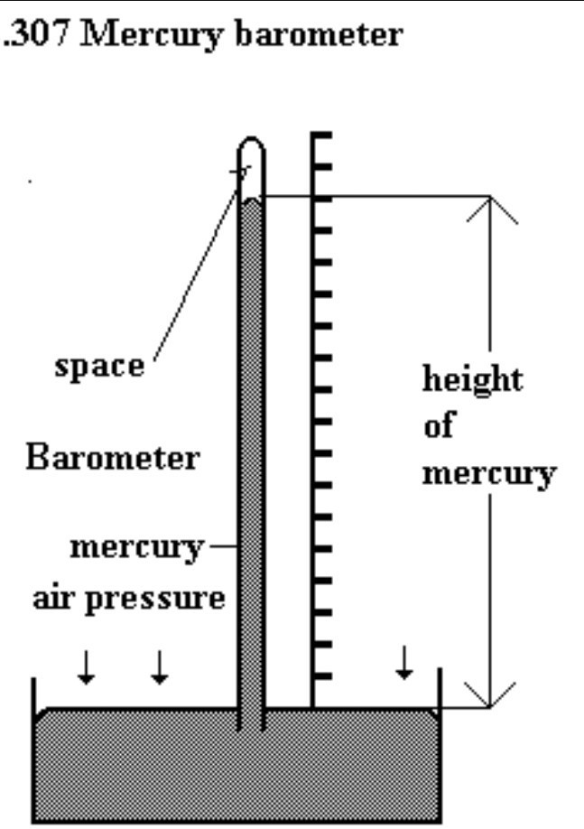 draw the diagram of a mercury barometer brainly in rh brainly in Hot Cold Side and Mercury's Detailed Digestive System Diagram