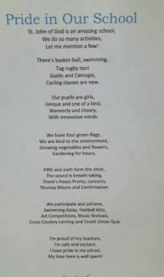 Poem on Music and my school my pride    Plz help  - Brainly in