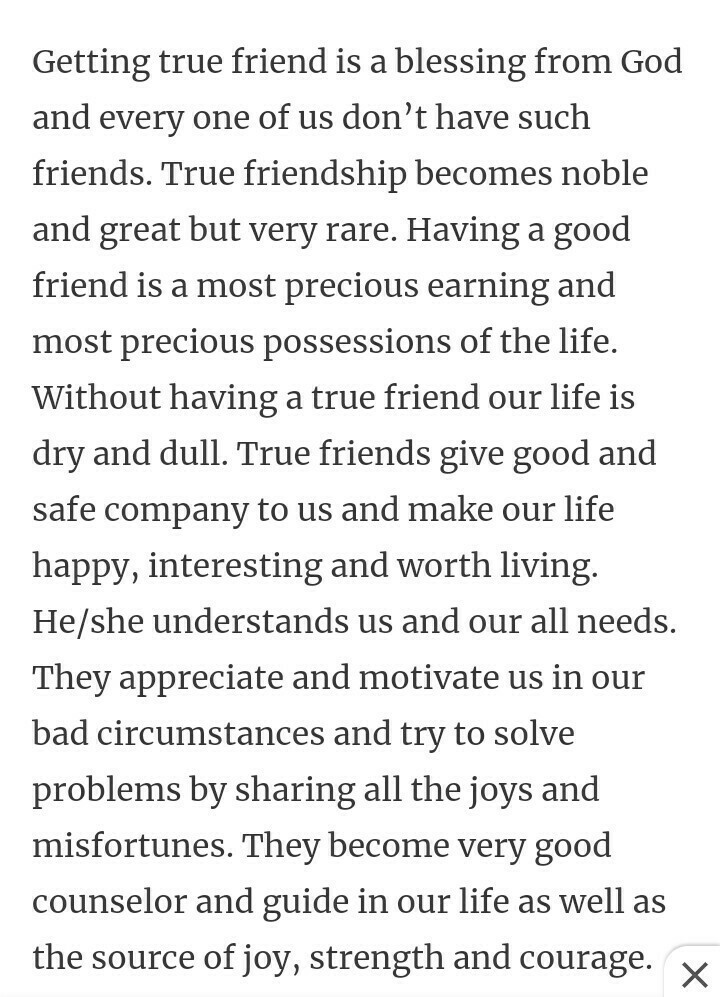 a friend in need is a friend indeed essay