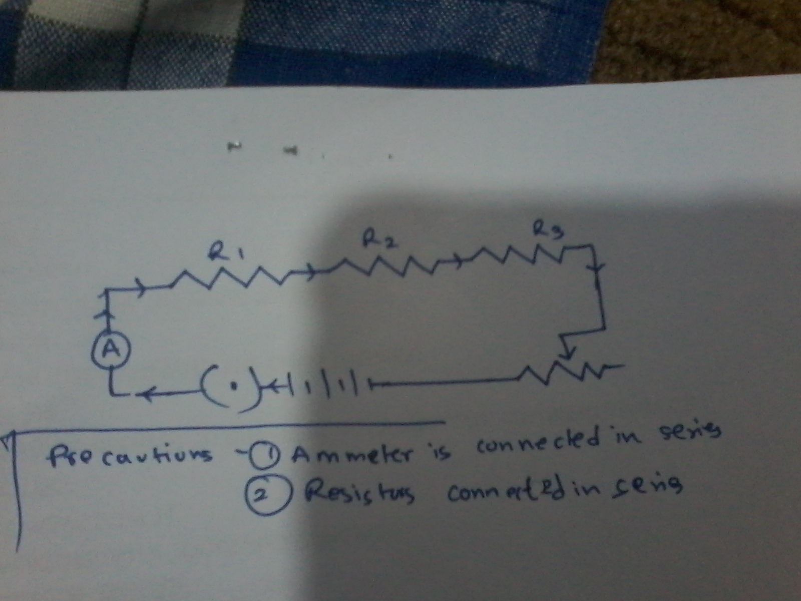 Draw A Labelled Circuit Diagram Showing Three Resistors R1 R2 And In Diagrams Or Schematics There Are Two Symbols For Download