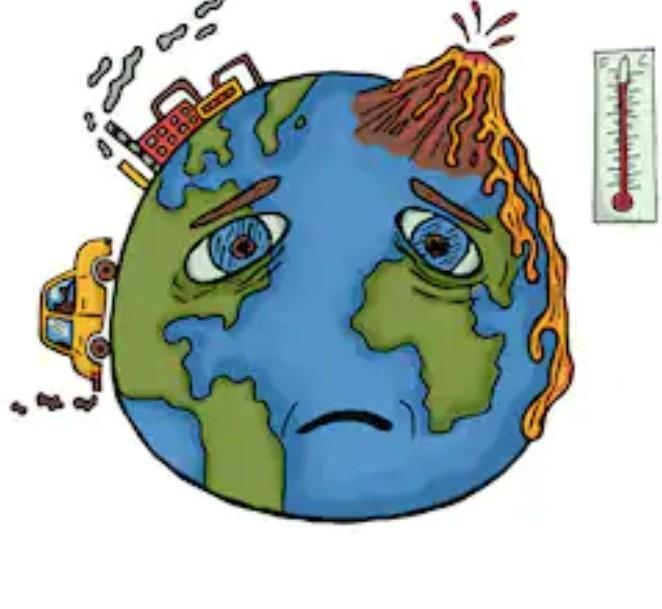 Give Me A Pic Of Global Warming Which Can Be Drawn On Chart Paper You Can Screenshot From Google Brainly In