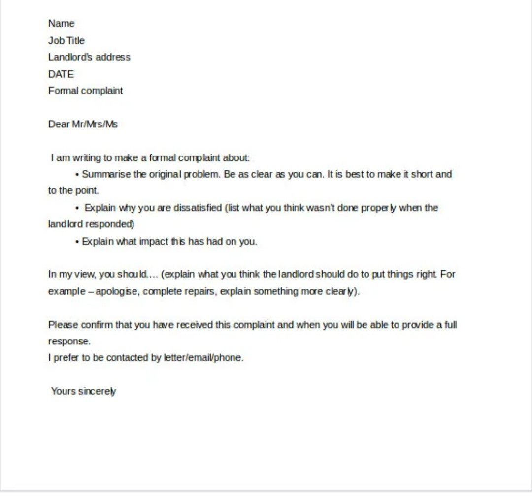 Formal Complaint Letter Example from hi-static.z-dn.net