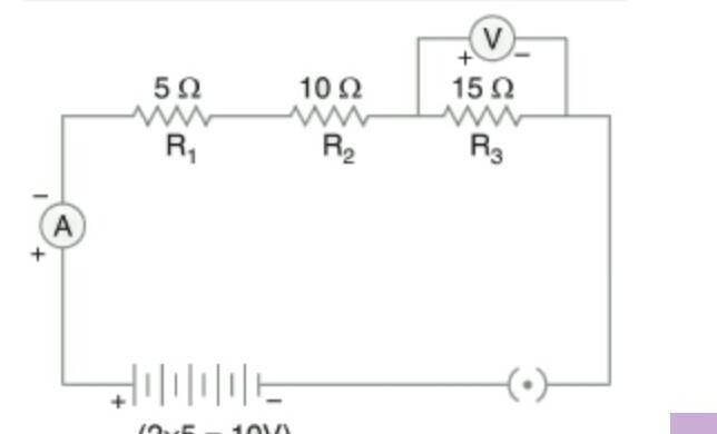 draw a schematic diagram of a circute consisting of a ...