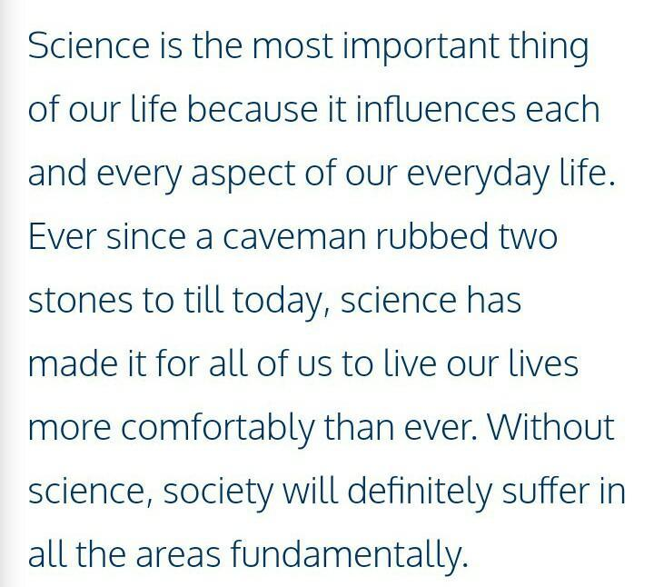 An Essay On Science In Everyday Life