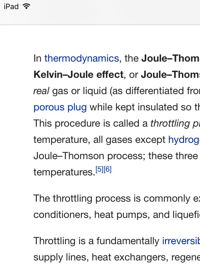 what is joule Thomson effect  - Brainly in