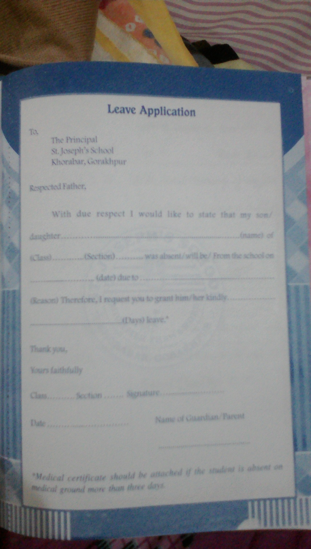 How to write a letter to a class teacher asking for one day leave download jpg thecheapjerseys Image collections