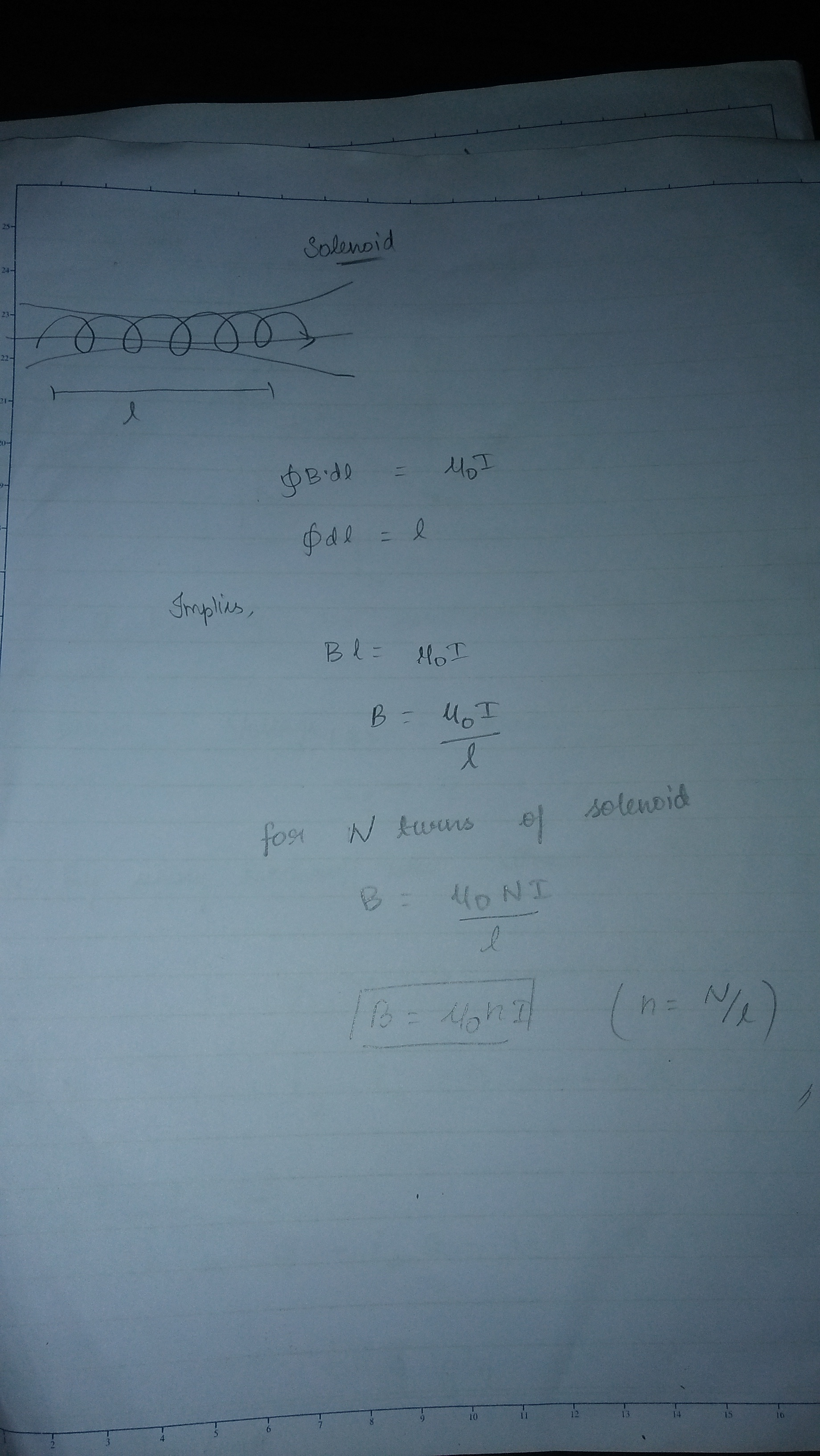State ampere's circuital theorem and apply it to find the