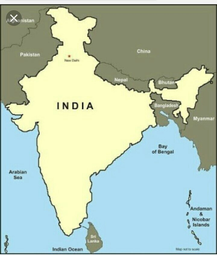 India political map adjacent countries fill map photo its urgent i download jpg gumiabroncs Images