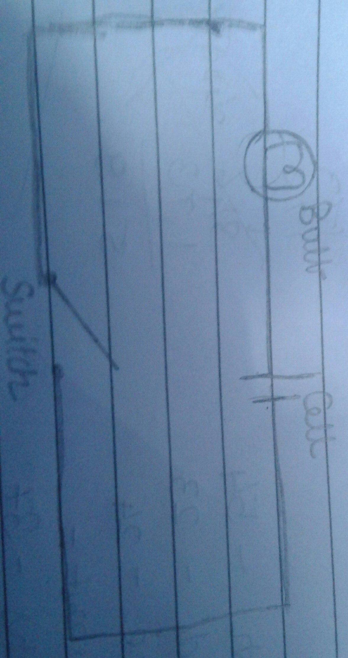 Draw the circuit diagram to represent the circuit shown in figure ...