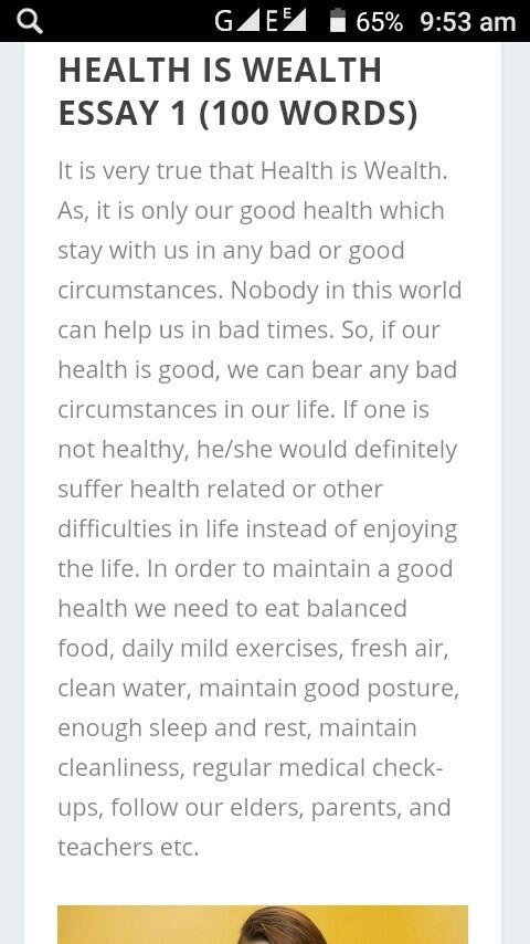 what is health discuss with your classmates about it also