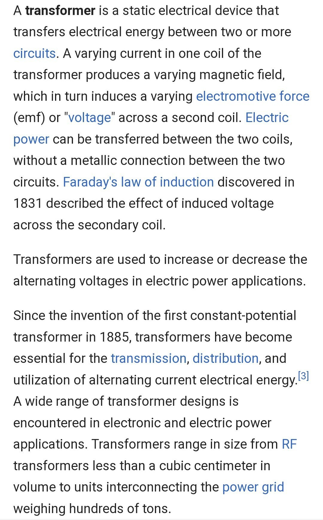 Write and explain the output equation of a transformer  - Brainly in