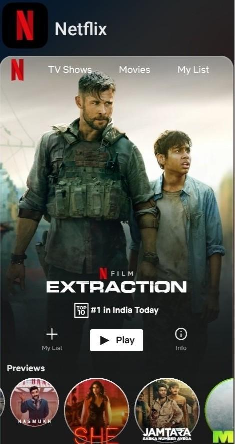 Watched Extraction Today Must Watch Movie Better Than Some Of The Bollywood Movies With Brainly In