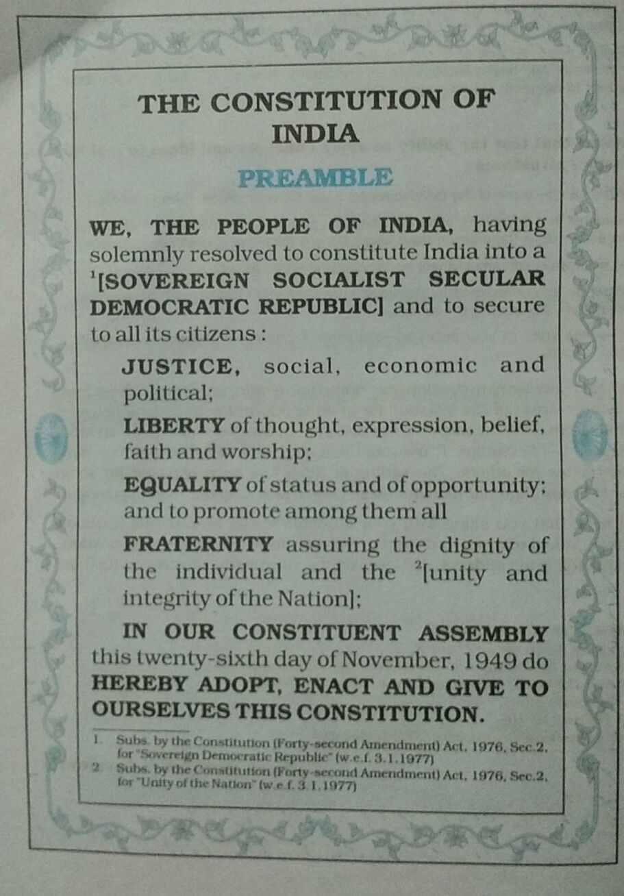 10+ Best For Preamble Drawings On Constitution Of India