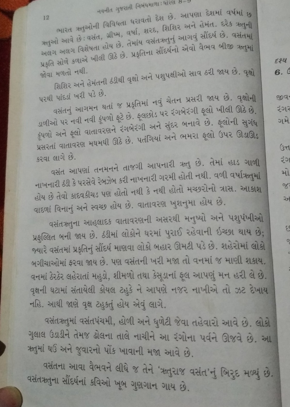 Essay On Science And Society Three Paragraph Essay On Vasant Rutu In Gujarati Language Brainly Essay About Learning English also Examples Of An Essay Paper Gujarati Essay In Gujarati Language  Mistyhamel High School Scholarship Essay Examples