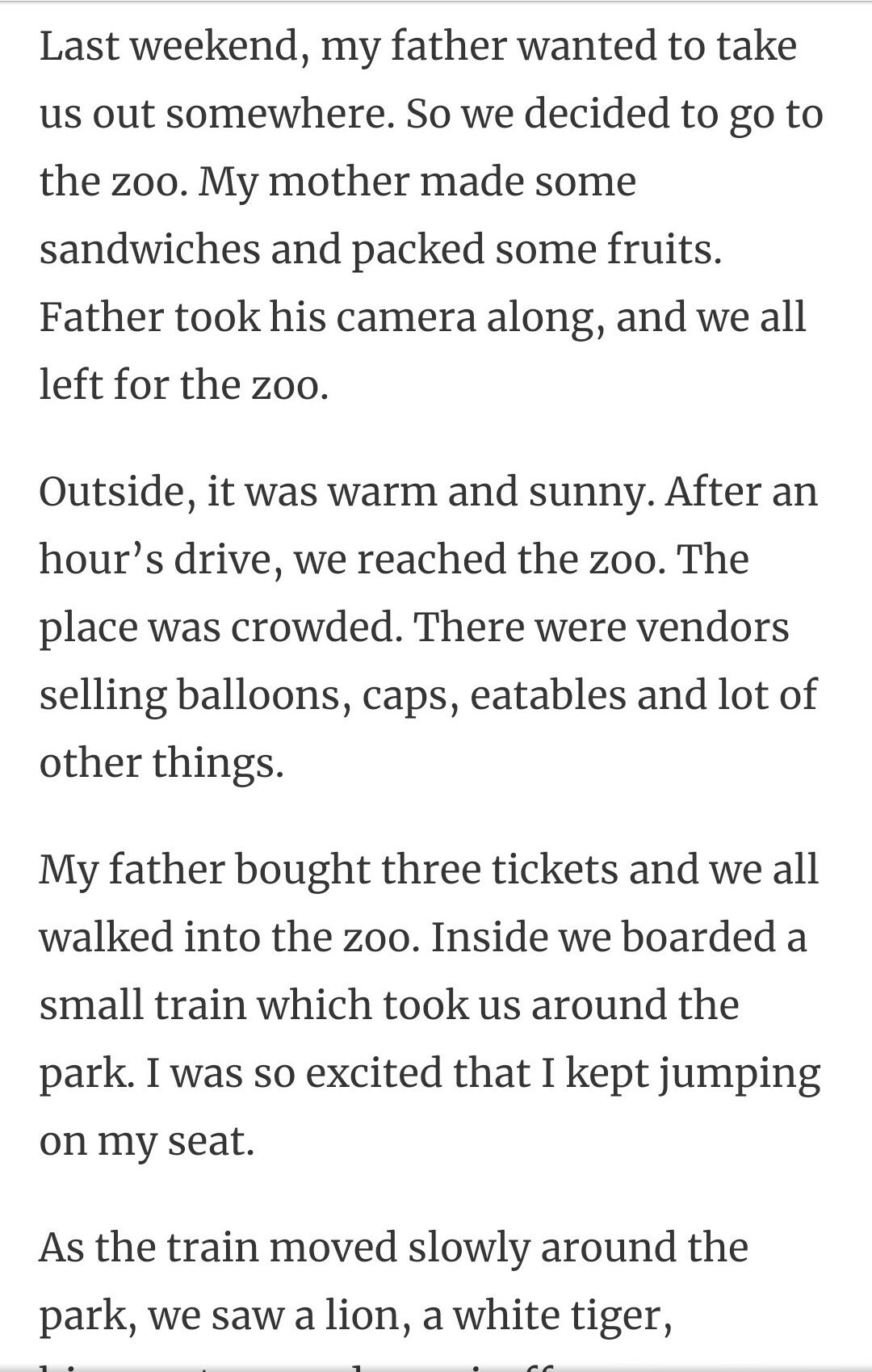 Long and Short Essay on Zoo in English