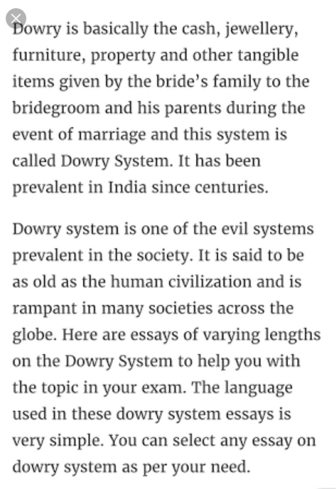 Dowry system in india essay pdf powerpoint 2010 business plan template