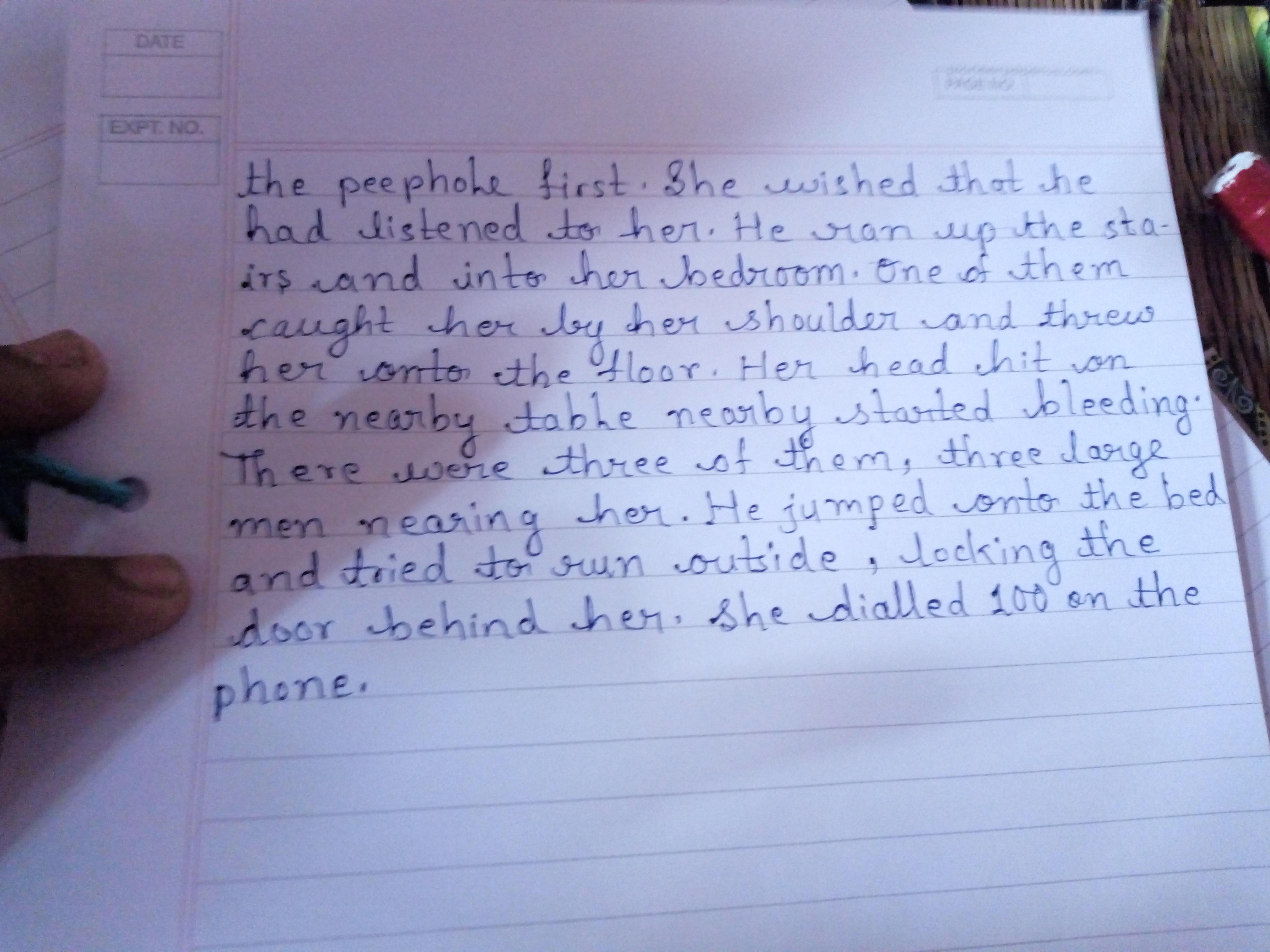 Essay on save girl child in english
