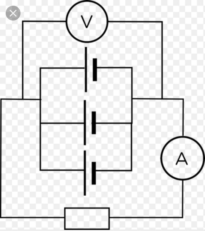 Draw a circuit diagram showing function of torch having 3 ... A Circuit Diagram Of Torch on