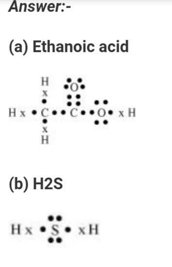 31 lewis dot diagram for h2s