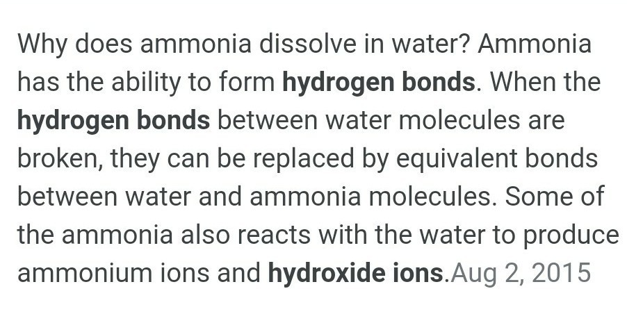 Which is soluble in water NH3 or methylamine ? - Brainly in