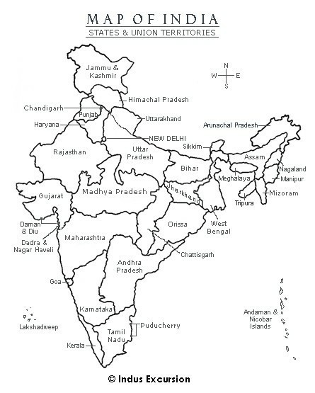 how many states and union territories does India have? name ... India Map With States Black And White on india river map, india south asia map, texas county map black and white, india political map, river clip art black and white, india map with latitude and longitude, india map with city,