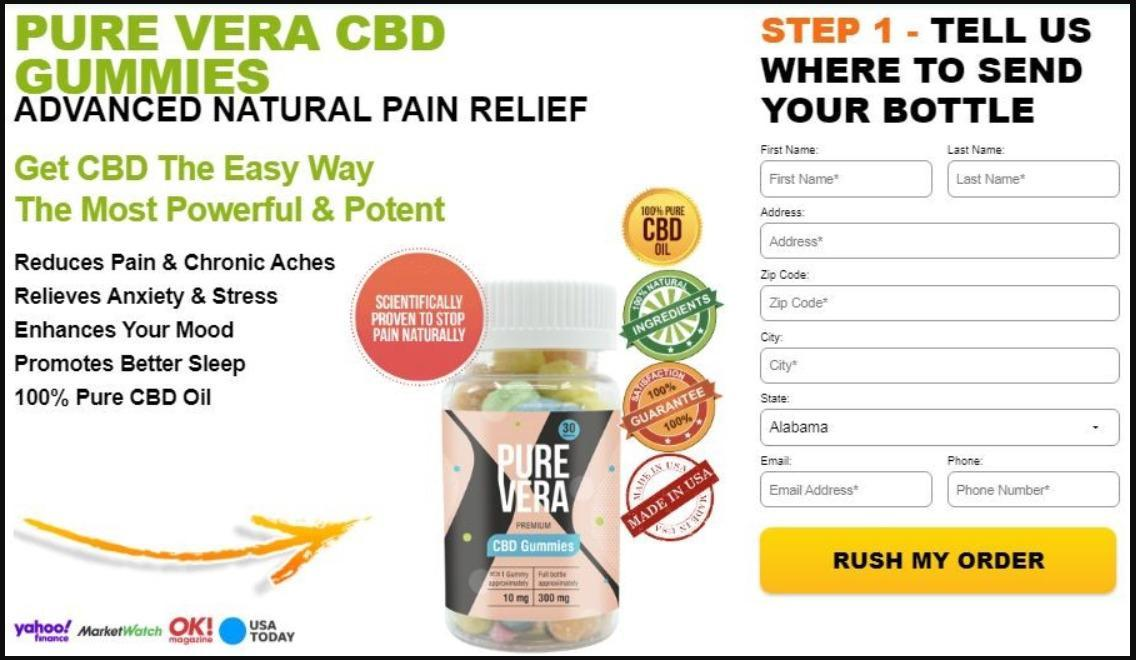Pure Vera CBD Gummies Pure Vera CBD Gummies:- Any examine is incomplete  without considering the - Brainly.in