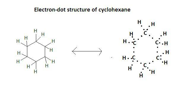 What Is Electron Dot Structure Of Cyclohexane