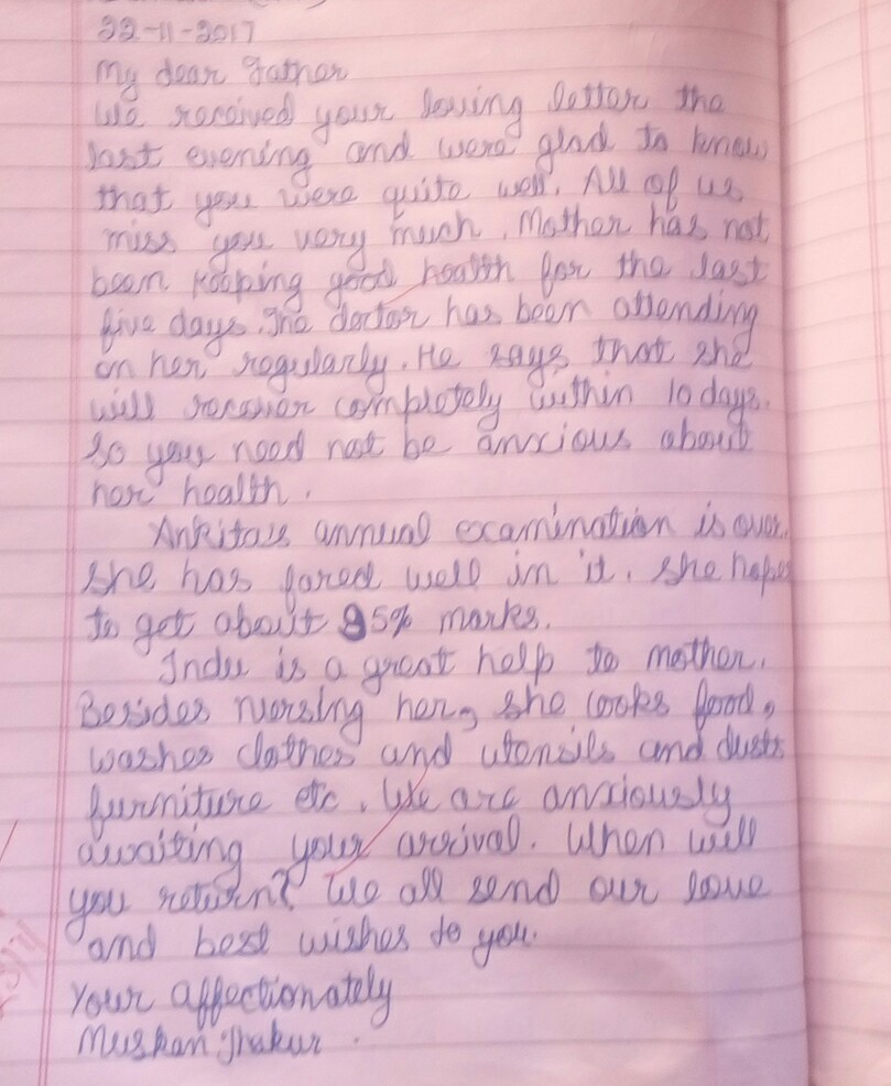 letter to dad from daughter at funeral