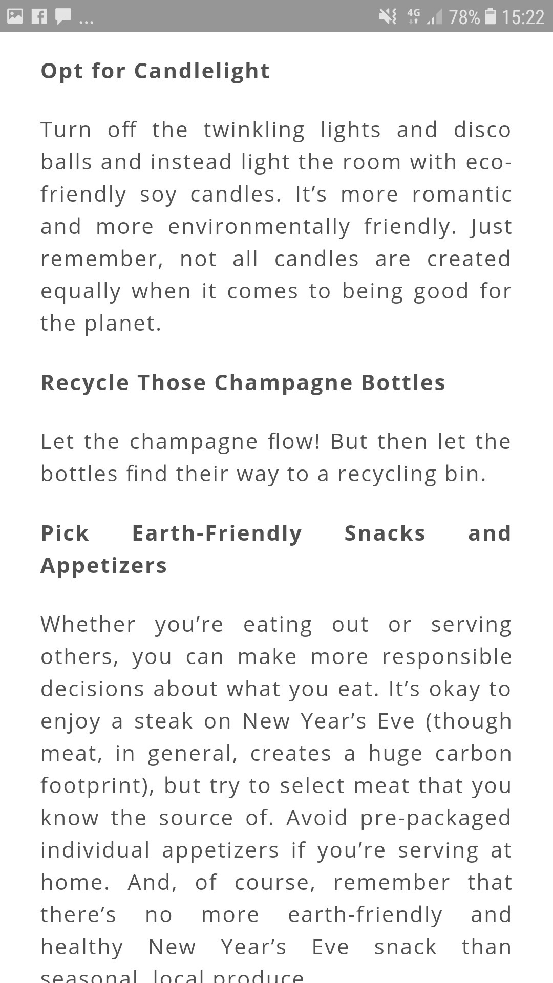 Speech on eco friendly new year - Brainly.in