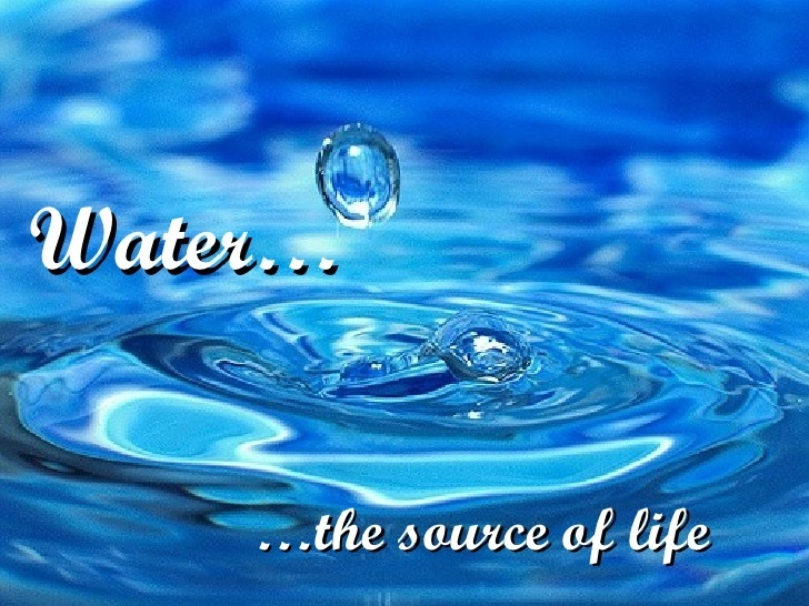 speech on water as a source of life