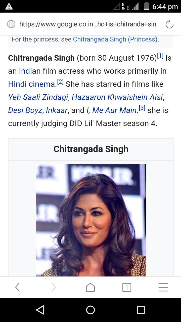 Who Is Chitranda Singh Brainly